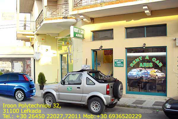 Best Lefkada car rentals